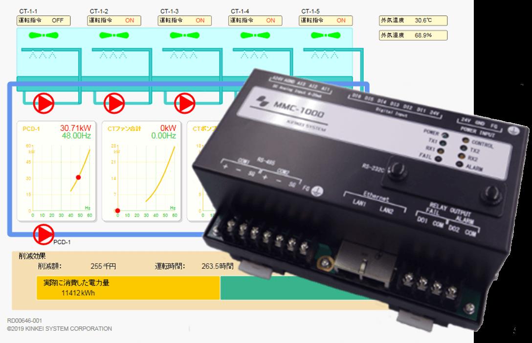 冷却水コントローラ(MMC-1010-01)